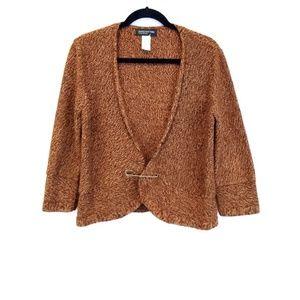 Jones New York Open Knit Cardigan/ S…